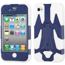 INSTEN Cyborg Holster Phone Case Cover for Apple iPhone 4S/ 4
