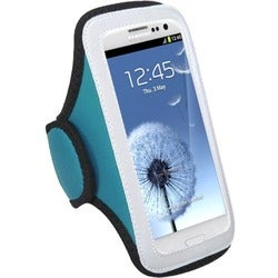 INSTEN Universal Baby Blue Sport Armband Phone Case Cover