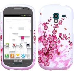 INSTEN Spring Flowers Phone Case Cover for Samsung T599 Galaxy Exhibit