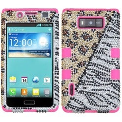 INSTEN Phone Case Cover for LG US730/ Splendor/ Venice/ L86c/ Optimus Snowtime
