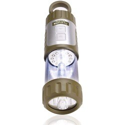 NIGHTLUX FL2 Camping Lantern & LED Flashlight w/ Hand Crank , USB Charging & Hanging Clip by ENHANCE