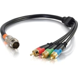 C2G 1.5ft RapidRun RCA Component Video Flying Lead