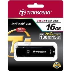 Transcend 16GB JetFlash 750 USB 3.0 Flash Drive