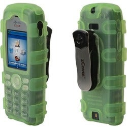 zCover Dock-in-Case Carrying Case for IP Phone - Green