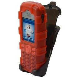 zCover gloveOne Carrying Case (Holster) for IP Phone - Red