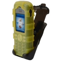 zCover gloveOne Carrying Case (Holster) for IP Phone - Yellow