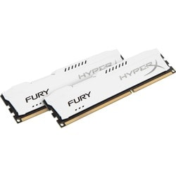 Kingston HyperX Fury Memory White - 16GB Kit (2x8GB) - DDR3 1333MHz