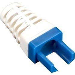 Black Box EZ-RJ45 CAT6 Strain-Relief Boot, 25-Pack, Blue