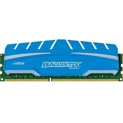 Crucial 8GB Kit (4GBx2), Ballistix 240-pin DIMM, DDR3 PC3-14900 Memor