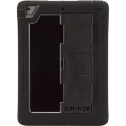 Griffin Survivor Slim Carrying Case for iPad Air - Black, Clear
