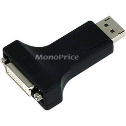 Monoprice DP (DisplayPort) Male to DVI-D Female Adapter (Single-Link)