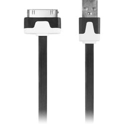 iEssentials 3.3ft Flat Colored Charge and Sync Apple Dock Cable