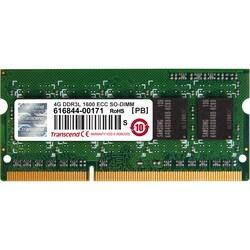 Transcend 4GB DDR3L 1600 ECC-SODIMM CL11 1Rx8