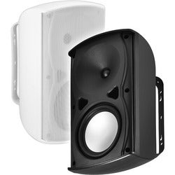 OSD Audio AP670 120 W RMS Outdoor Speaker - 2 Pack - White
