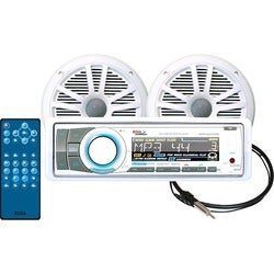 BOSS AUDIO MCK752WB.6 Marine Package Includes MR752UAB Single-DIN Mar
