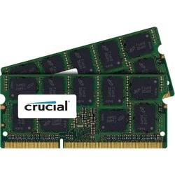 Crucial 8GB Kit (4GBx2), 240-pin DIMM, DDR3 PC3-14900 Memory Module