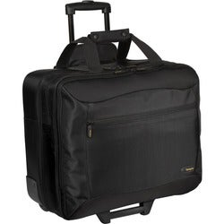 "Targus CityGear TCG717 Carrying Case (Roller) for 17"" Notebook - Blac"