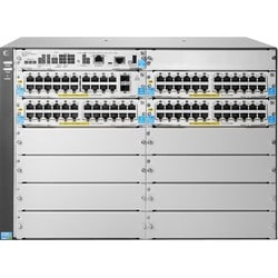 HP 5412R-92G-PoE+/4SFP (No PSU) v2 zl2 Switch