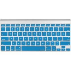 Macally Protective Cover in Blue for Macbook Pro, Macbook Air and Mos