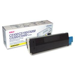 Oki Type C6 Toner Cartridge (Yellow)