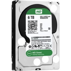 WD Green 6TB Desktop Capacity Hard Drives SATA 6