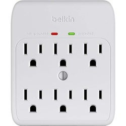 Belkin 6-Outlet Wall Mount Surge Protector