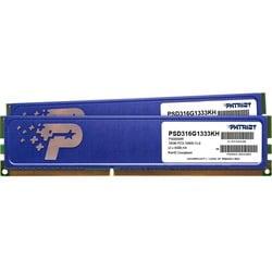 Patriot Memory Signature DDR3 16GB (2 x 8GB) CL9 PC3-10600 (1333MHz)