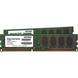 Patriot Memory Signature DDR3 16GB (2 x 8GB CL11 PC3-12800 (1600MHz)