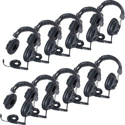 Califone 3068AV-10L Switchable Headphones Classpk