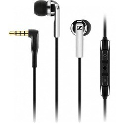 Sennheiser In Ear Headphones (Integrated Mic) CX 2.00i Black