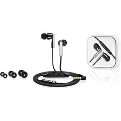 Sennheiser In Ear Headphones (Integrated Mic) CX 5.00i Black