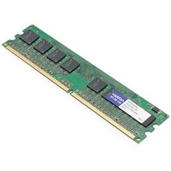 AddOn Dell A1229318 Compatible 2GB DDR2-667MHz Unbuffered Dual Rank 1