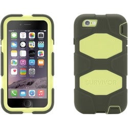 Griffin Survivor All-Terrain Carrying Case for iPhone - Olive, Lime