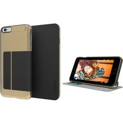 Incipio Highland Carrying Case (Folio) for iPhone 6 Plus - Gold, Blac