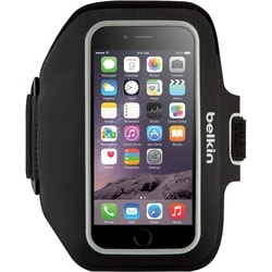Belkin Sport-Fit Plus Carrying Case (Armband) for iPhone - Blacktop,