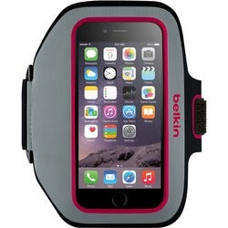 Belkin Sport-Fit Plus Carrying Case (Armband) for iPhone - Sidewalk,