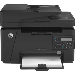 HP M127FN Laser Multifunction Printer - Refurbished - Monochrome - Pl