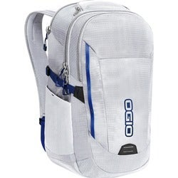 "Ogio Ascent Carrying Case (Backpack) for 15"" Notebook - White, Navy"