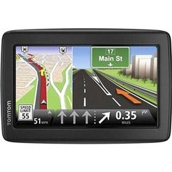 Tomtom VIA 1515M Automobile Portable GPS Navigator - Black, Gray - Po