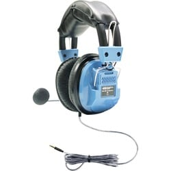 Hamilton Buhl Deluxe Headset with Gooseneck Microphone and TRRS Plug