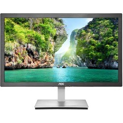 "AOC e2476Vwm6 23.6"" Anti-Blue Light LED Monitor with HDMI and 1ms res"
