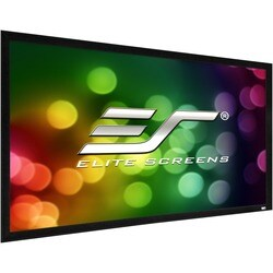 """Elite Screens ezFrame 2 R100WH2 Fixed Frame Projection Screen - 100"""""""