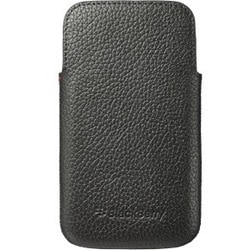 BlackBerry Carrying Case (Pouch) for Smartphone - Black