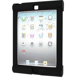 Seal Shield Silicone Bumper Case for iPad Air Black Antimicrobial