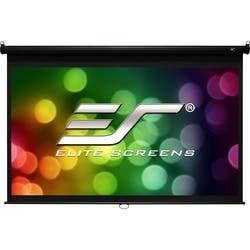 "Elite Screens Manual M120H Manual Projection Screen - 120"" - 16:9 - W