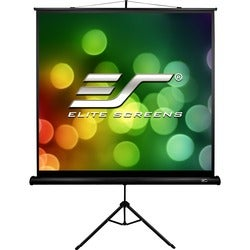 "Elite Screens Tripod T113SB Projection Screen - 113"" - 1:1 - Surface"
