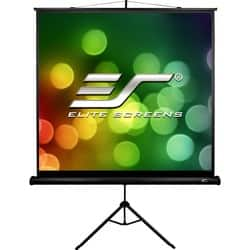 "Elite Screens Tripod T113SB Projection Screen - 113"" - 1:1 - Surface