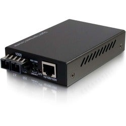 C2G 10/100/1000 Base-Tx to 1000Base SC SC Gigabit Media Converter