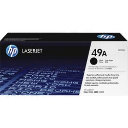 Easy-to-install HP Laser Jet 49A Black Toner Cartridge for 2,500 Pages