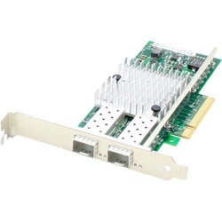 AddOn HP 665249-B21 Comparable 10Gbs Dual Open SFP+ Port PCIe x8 Netw